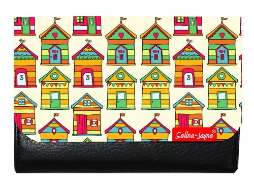Selina-Jayne Beach Huts Limited Edition Designer Small Purse
